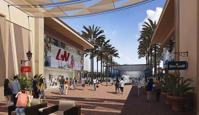 The Irvine Company has an ambitious plan to add a new shopping paseo at its Irvine Spectrum Center. About 20 new stores and a walking path will replace the Macyís store, which will be demolished.