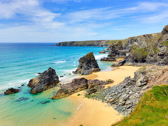 A stunning coastal seascape on a clear day - how to make money with landscape photography